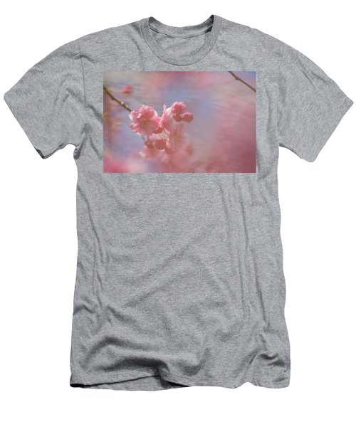 Weeping Cherry Blossoms Men's T-Shirt (Athletic Fit)
