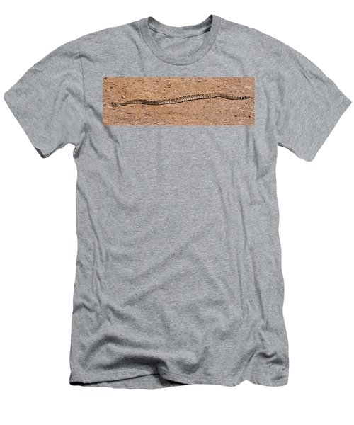 Western Diamondback Rattle Snake Men's T-Shirt (Athletic Fit)