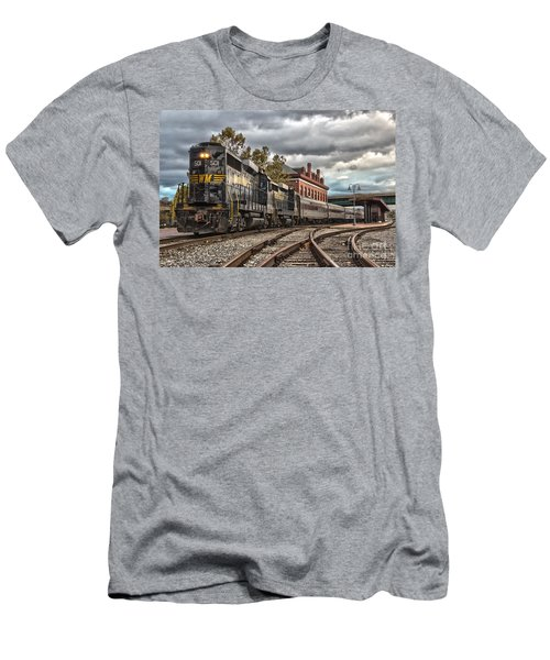 Western Maryland Scenic Railroad Men's T-Shirt (Athletic Fit)