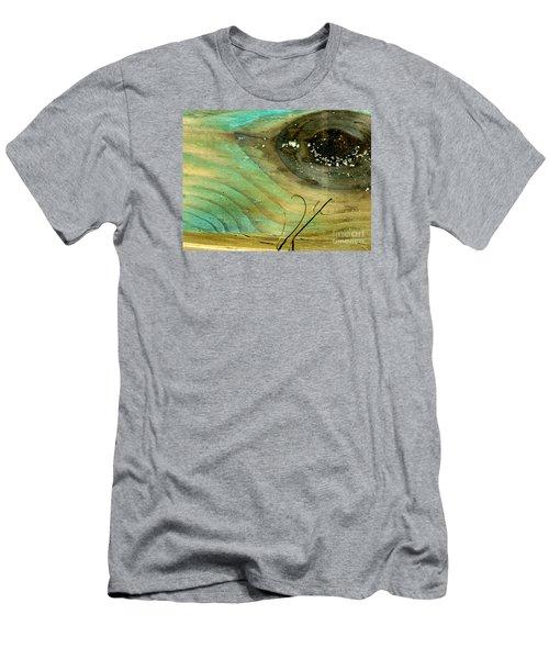 Whale Eye Men's T-Shirt (Slim Fit) by Michael Cinnamond