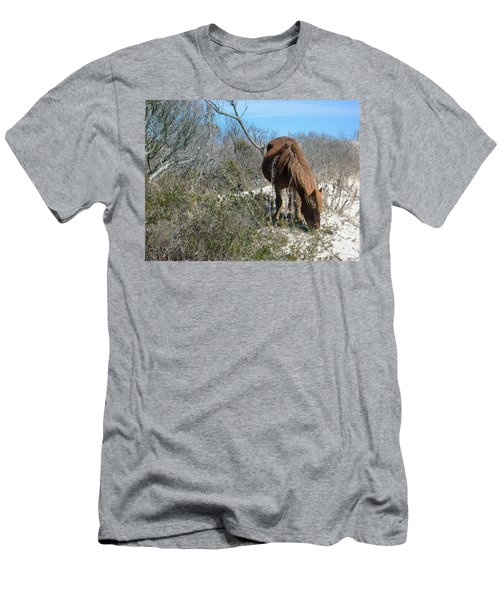 Men's T-Shirt (Slim Fit) featuring the photograph What Do I See Here? by Photographic Arts And Design Studio