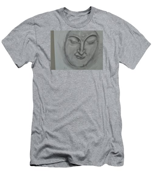 Men's T-Shirt (Slim Fit) featuring the drawing What Must It Be by Sharyn Winters