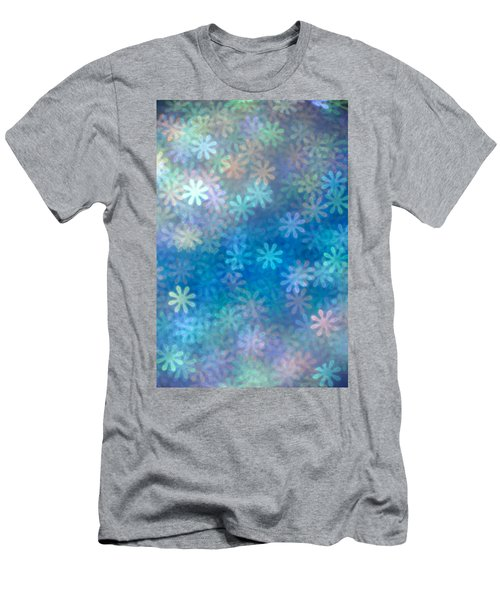 Men's T-Shirt (Slim Fit) featuring the photograph Where Have All The Flowers Gone by Dazzle Zazz