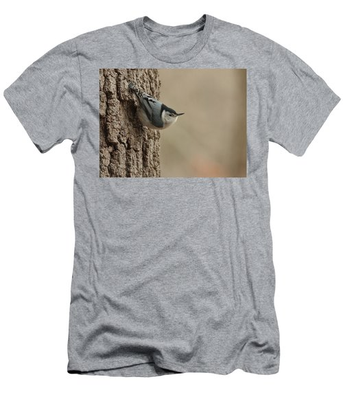 White-breasted Nuthatch Men's T-Shirt (Athletic Fit)