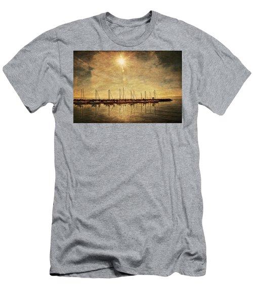 White Rock Sunset Men's T-Shirt (Athletic Fit)
