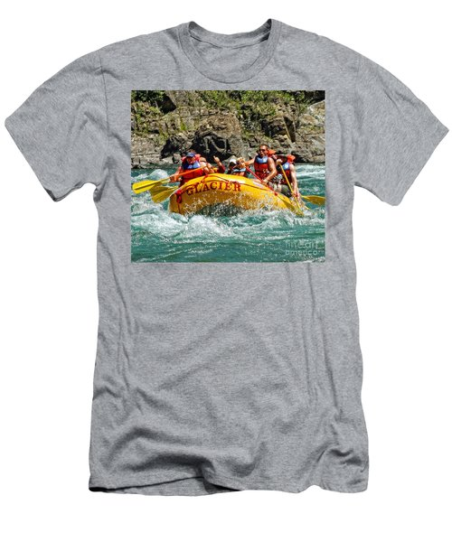 White Water Fun Men's T-Shirt (Athletic Fit)