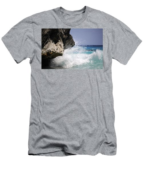 White Water Paradise Men's T-Shirt (Athletic Fit)