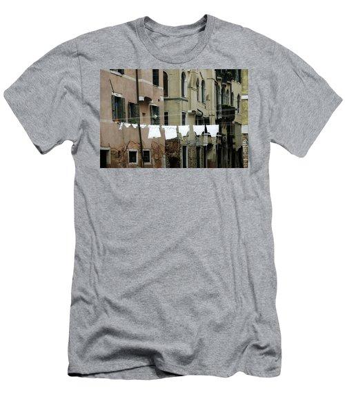 Whiter Than White Men's T-Shirt (Athletic Fit)