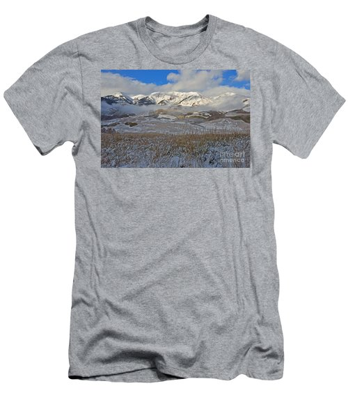 Whiterock Winter Mist Men's T-Shirt (Athletic Fit)