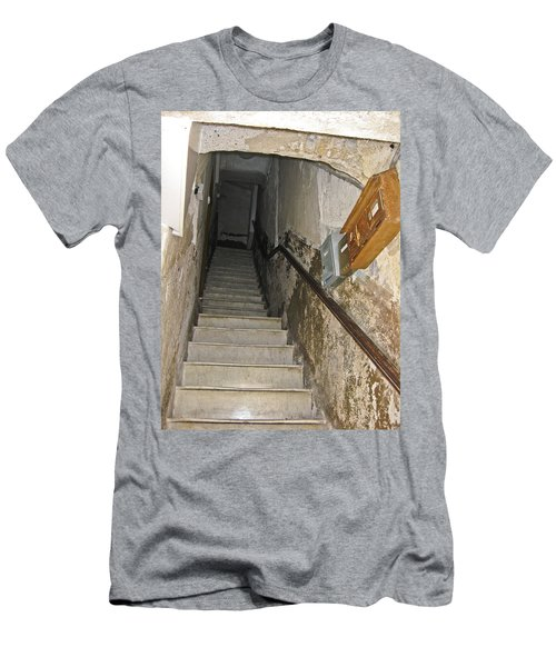 Men's T-Shirt (Slim Fit) featuring the photograph Who Lives Here? by Allen Sheffield