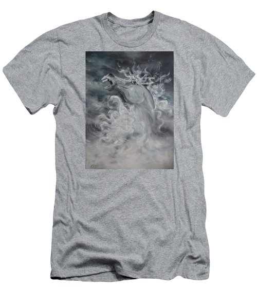 Men's T-Shirt (Slim Fit) featuring the painting Wild And Free by Jean Walker
