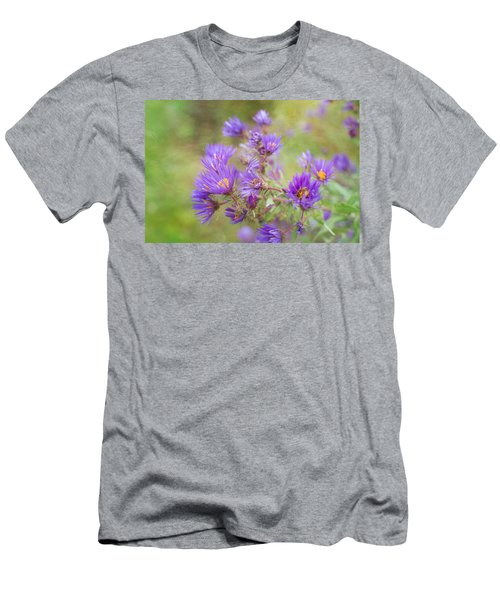 Wild Flowers In The Fall Men's T-Shirt (Athletic Fit)