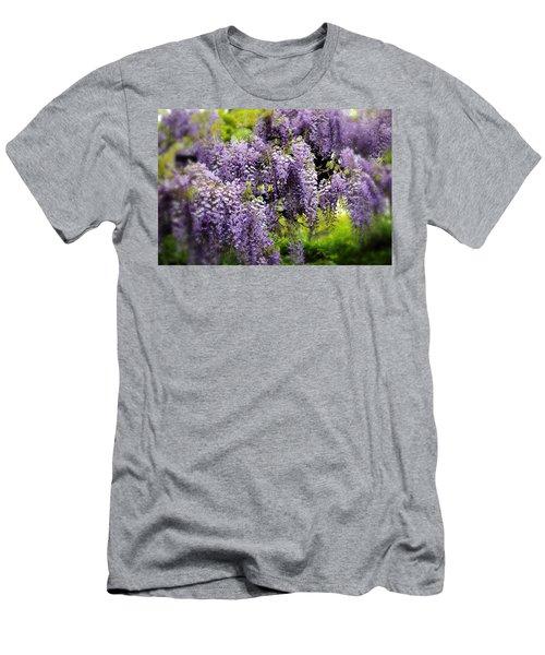 Wild Wisteria Men's T-Shirt (Athletic Fit)