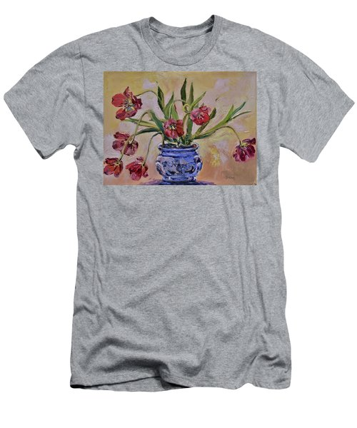 Wilting Tulips Men's T-Shirt (Athletic Fit)