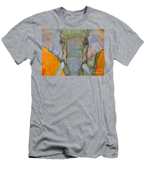Wind And Fire - Fine Art Painting Men's T-Shirt (Athletic Fit)