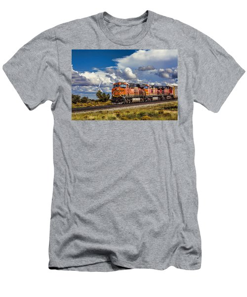 Wind And Rail Men's T-Shirt (Athletic Fit)
