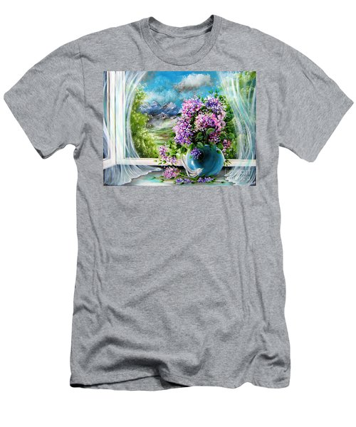 Windows Of My World Men's T-Shirt (Slim Fit) by Patrice Torrillo