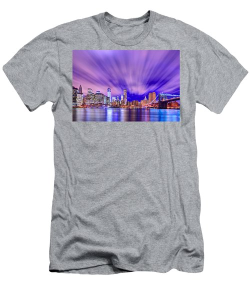 Winds Of Lights Men's T-Shirt (Slim Fit) by Midori Chan
