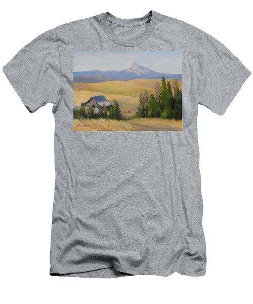 Men's T-Shirt (Slim Fit) featuring the painting Windswept by Karen Ilari