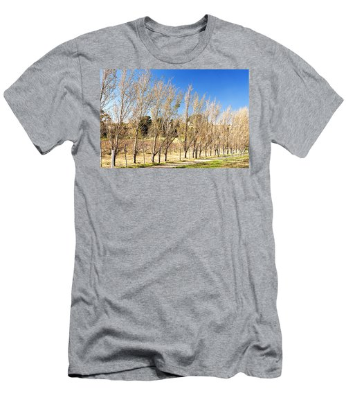 Men's T-Shirt (Athletic Fit) featuring the photograph Winery by Yew Kwang