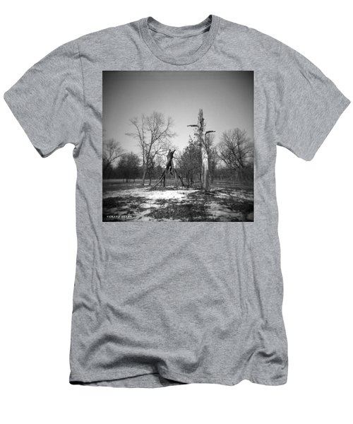 Winter Forest Series 4 Men's T-Shirt (Athletic Fit)