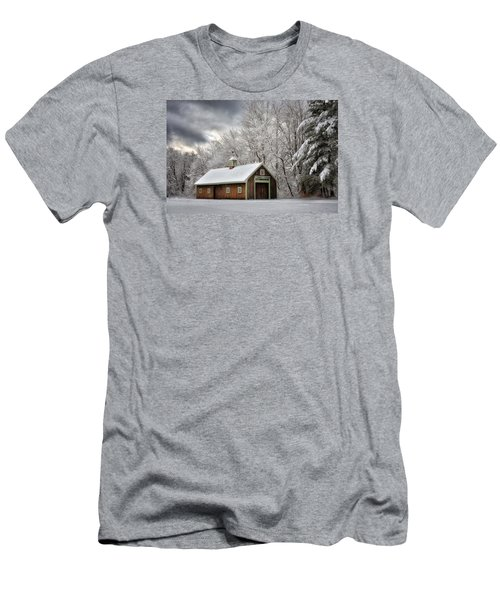 Winter Glow Men's T-Shirt (Slim Fit) by Tricia Marchlik