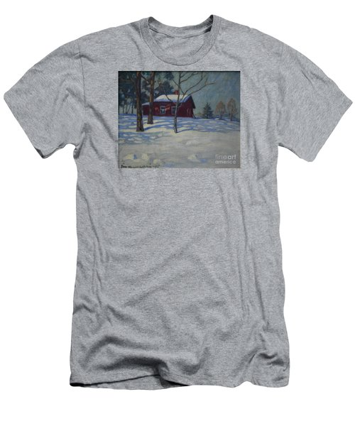 Winter House Men's T-Shirt (Athletic Fit)