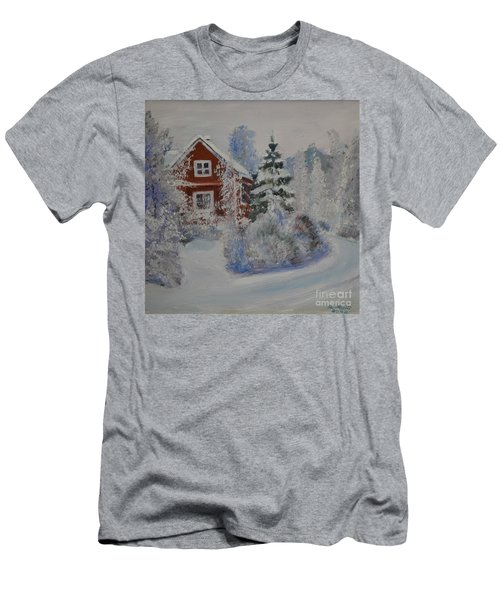 Winter In Finland Men's T-Shirt (Athletic Fit)