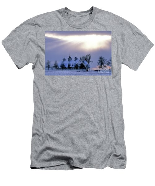 Winter In The Bluegrass - Fs000286 Men's T-Shirt (Athletic Fit)
