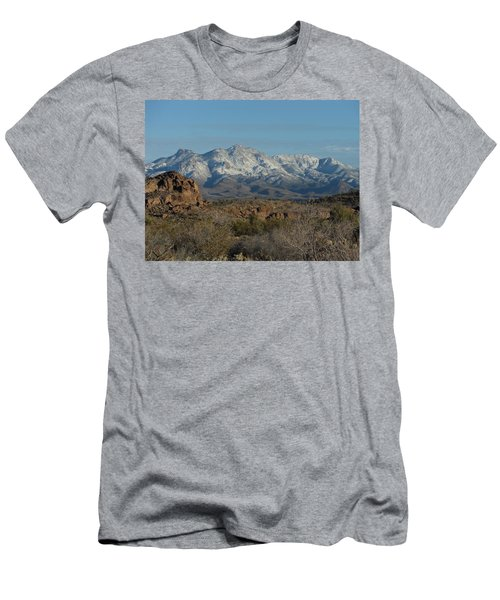 Winter In The Haulapai's Men's T-Shirt (Athletic Fit)