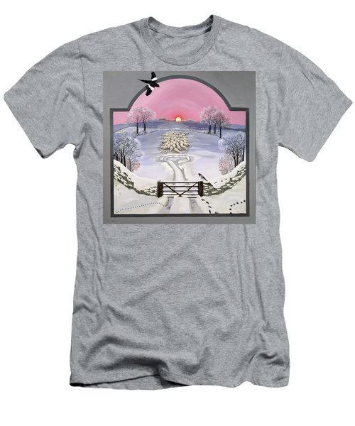 Winter Men's T-Shirt (Slim Fit) by Maggie Rowe