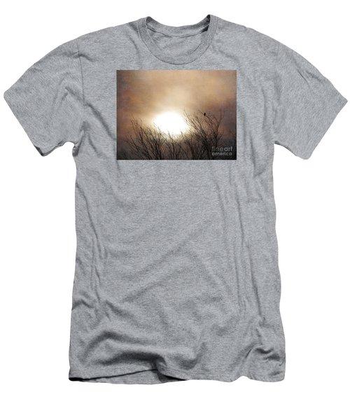 Winter Solstice Men's T-Shirt (Slim Fit) by Roselynne Broussard