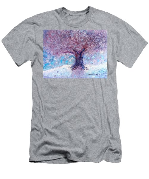 Winter Solstice Men's T-Shirt (Slim Fit) by Shana Rowe Jackson
