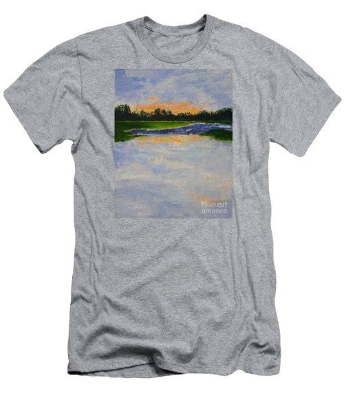 Winter Solstice Sunrise Men's T-Shirt (Athletic Fit)