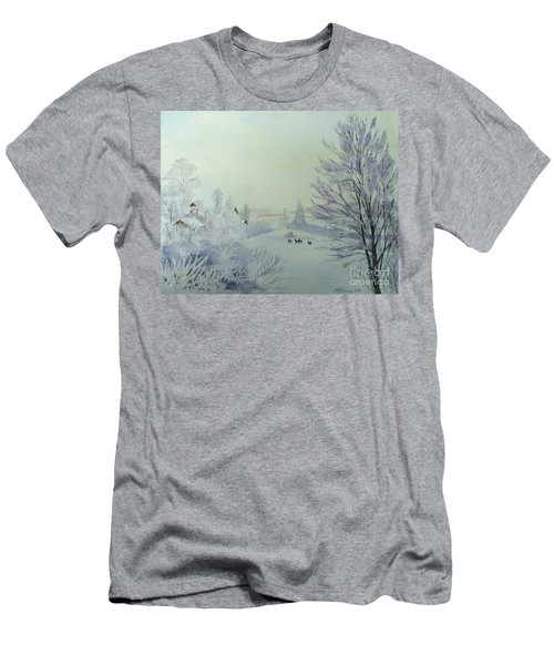 Winter Visitors Men's T-Shirt (Athletic Fit)