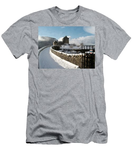 Winter Wonder Walkway Men's T-Shirt (Athletic Fit)