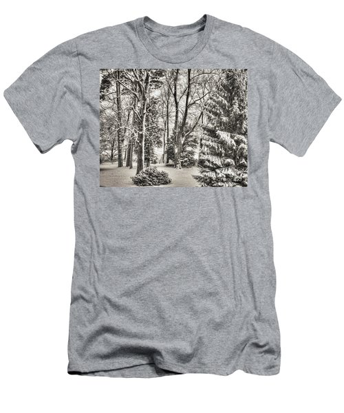 Winter Zauber 03 Men's T-Shirt (Athletic Fit)