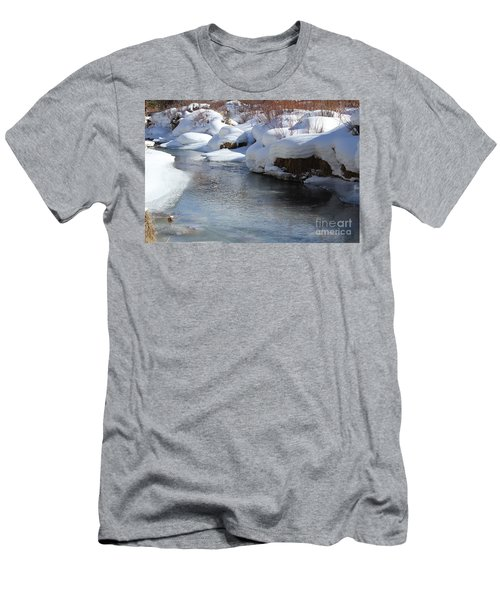 Winter's Blanket Men's T-Shirt (Slim Fit) by Fiona Kennard