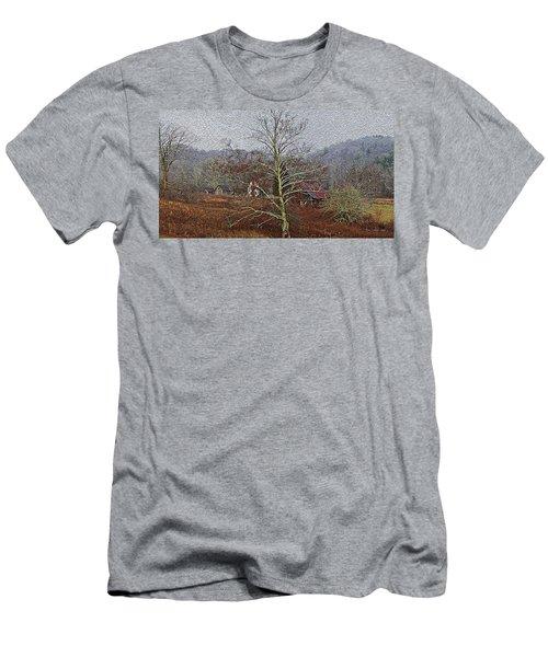 Winter's Sentinel V2 Men's T-Shirt (Slim Fit) by Tom Culver
