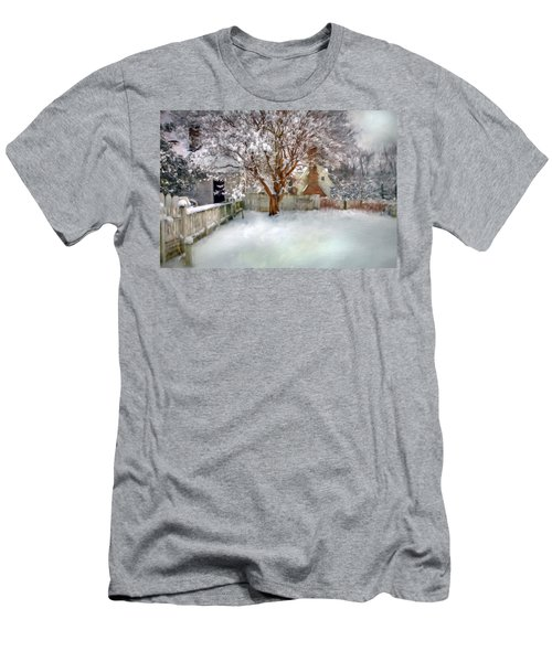 Wintry Garden Men's T-Shirt (Athletic Fit)