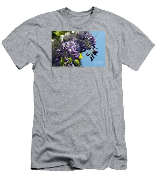 Men's T-Shirt (Slim Fit) featuring the photograph Wisteria IIi by Cassandra Buckley