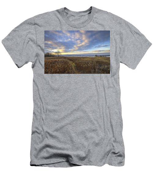 Wonderful Sunset Men's T-Shirt (Athletic Fit)
