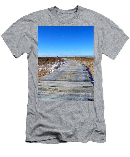 Plum Island Men's T-Shirt (Slim Fit) by Eunice Miller