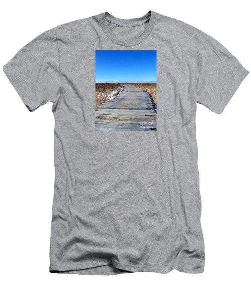 Plum Island Men's T-Shirt (Athletic Fit)