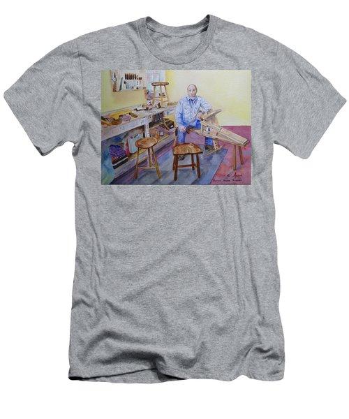 Woodworker Chair Maker Men's T-Shirt (Slim Fit)