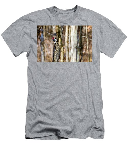 Men's T-Shirt (Slim Fit) featuring the photograph Woody by Sennie Pierson