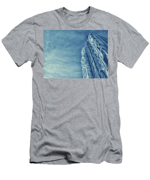 Men's T-Shirt (Slim Fit) featuring the photograph Wrapped Cathedral by John Hansen