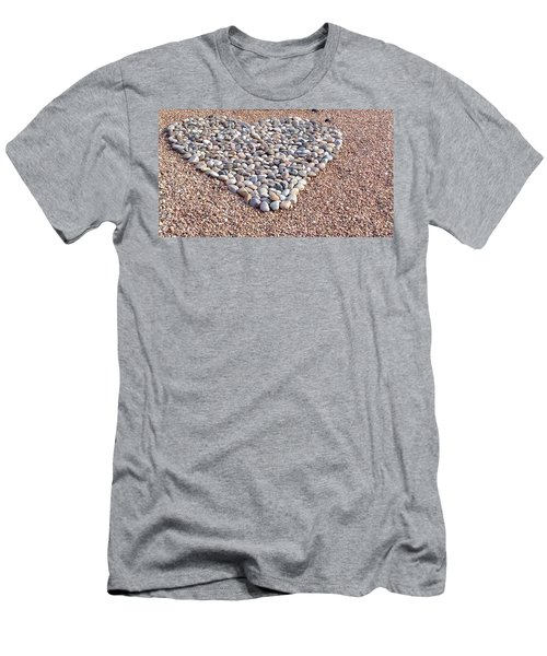 Xeriscape Heart Men's T-Shirt (Athletic Fit)