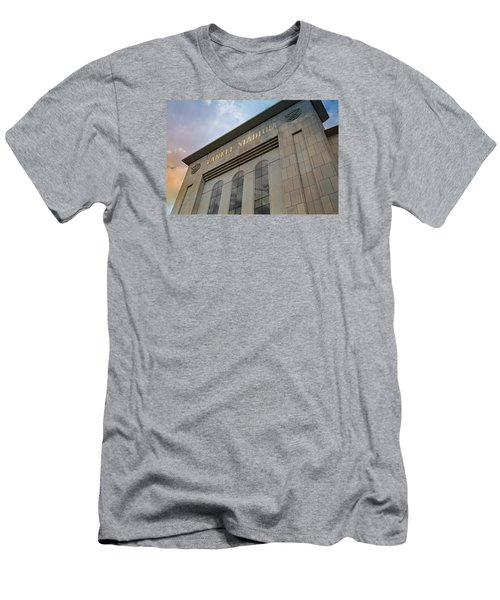 Yankee Stadium Men's T-Shirt (Slim Fit) by Stephen Stookey