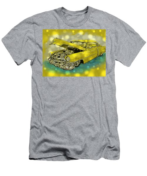Yellow Cad Men's T-Shirt (Athletic Fit)